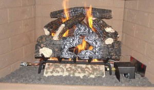 gas logs, installs, fireplace chimney inspection