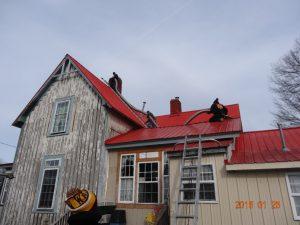 metal roof chimney pipe