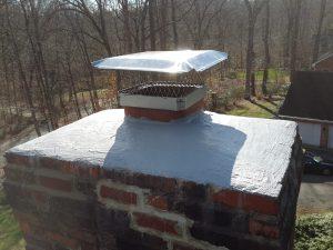 Chimney repair crown.