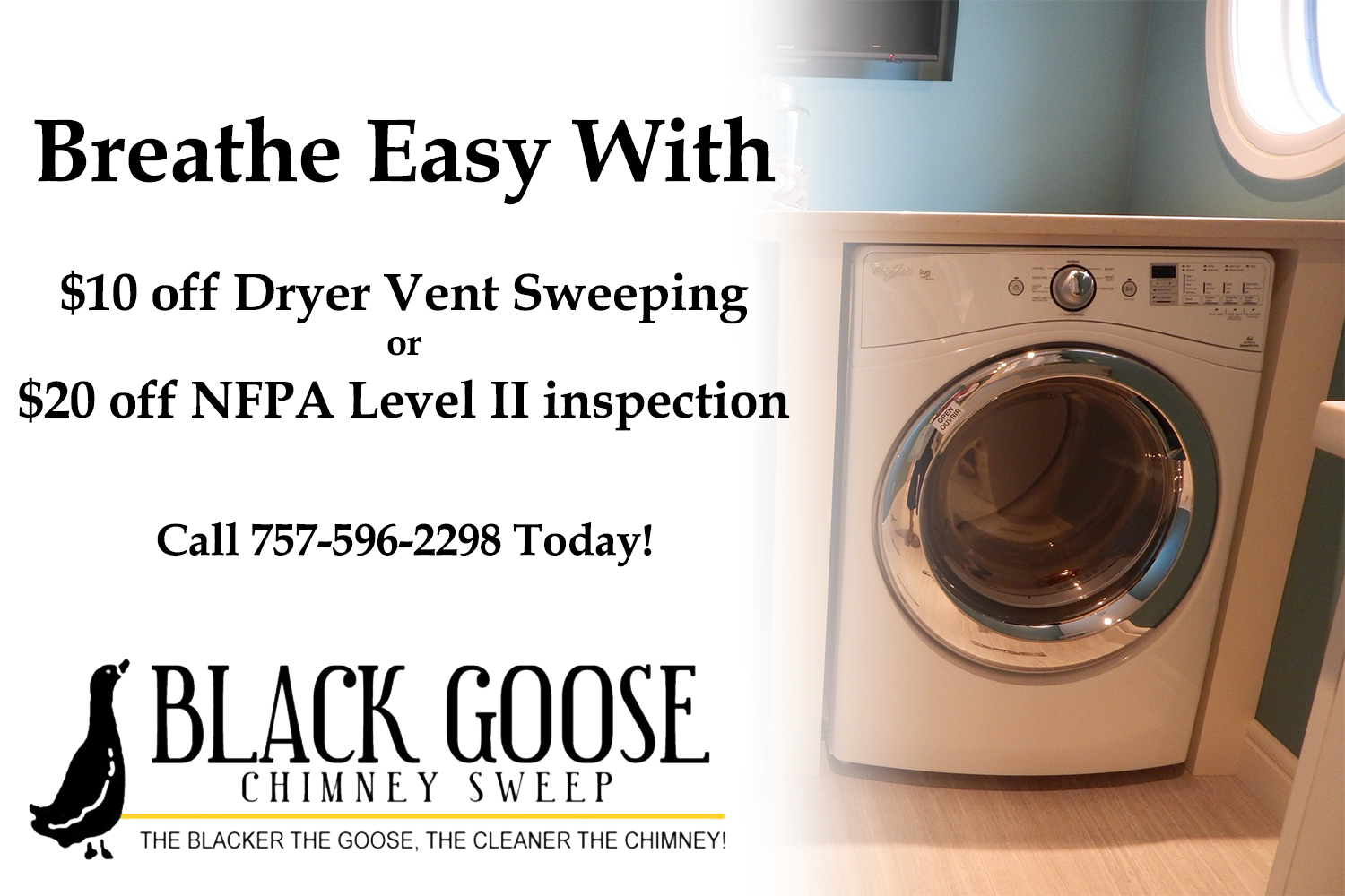 Black Goose Dryer_ Inspection Coupon