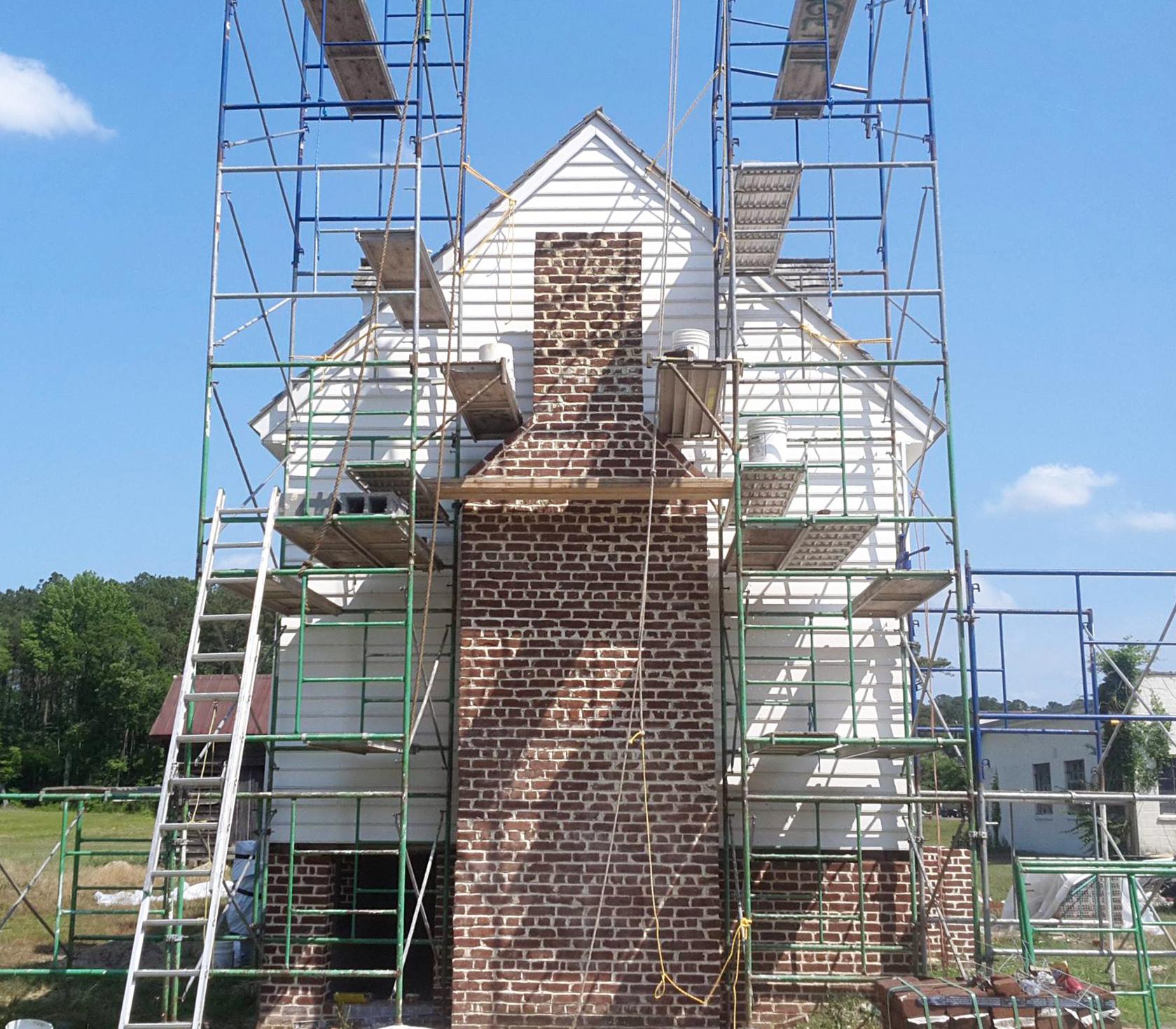 Rebecca Vaughan House Restoration