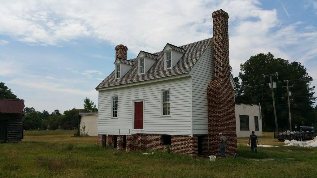 Rebecca Vaughan House Restoration Black Goose