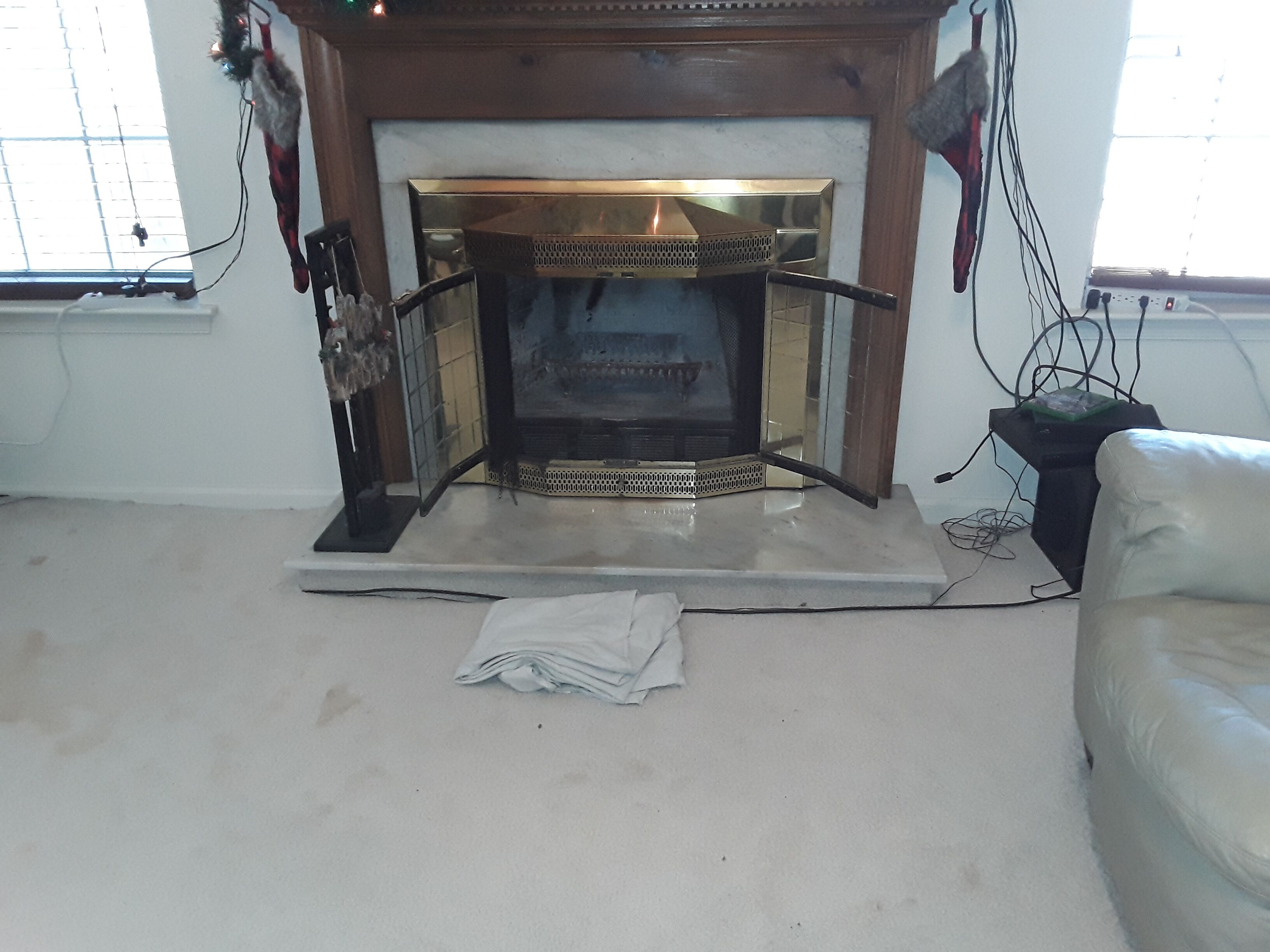Chimney Leak Leads To Fireplace Replacement Black Goose