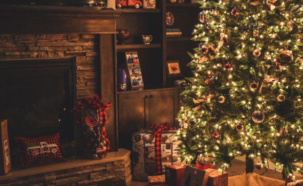 lighted-christmas-tree